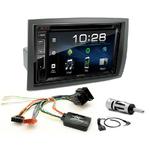 Citroën Jumper, Relay, Fiat Ducato & Peugeot Boxer de 2006 à 2011 : Poste radio 2-DIN avec CD/USB/Bluetooth avec ou sans écran tactile