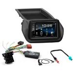 Citroën Nemo, Fiat Fiorino & Qubo, Peugeot Bipper depuis 2008 : Poste radio 2-DIN avec CD/USB/Bluetooth avec ou sans écran tactile