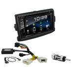 Dacia Duster, Dokker, Lodgy, Logan & Sandero : Poste radio 2-DIN avec CD/USB/Bluetooth avec ou sans écran tactile