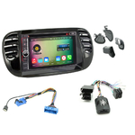 Pack autoradio Android GPS Fiat 500 de 2007 à 2014 - WIFI Bluetooth écran tactile HD