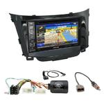 Pack autoradio GPS Hyundai i30 depuis 03/2012 - iLX-702D, iLX-F903D, INE-W990HDMI ou INE-W710D au choix