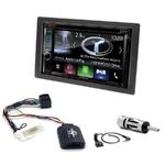 Autoradio Navigation CarPlay et Android Auto DNX5180BTS, DNX451RVS ou DNX8180DABS Kia Carens de 2007 à 2010