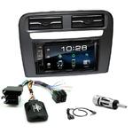 Fiat Grande Punto de 2005 à 2009 : Poste radio 2-DIN avec CD/USB/Bluetooth avec ou sans écran tactile