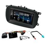 Fiat 500X : Poste radio 2-DIN avec CD/USB/Bluetooth avec ou sans écran tactile