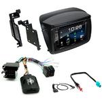 Fiat Doblo & Opel Combo de 2010 à 2015 : Poste radio 2-DIN avec CD/USB/Bluetooth avec ou sans écran tactile