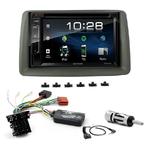 Fiat Panda de 2003 à 2011 : Poste radio 2-DIN avec CD/USB/Bluetooth avec ou sans écran tactile