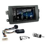 Fiat Sedici & Suzuki SX4 depuis 2006 : Poste radio 2-DIN avec CD/USB/Bluetooth avec ou sans écran tactile