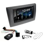 Fiat Stilo de 10/2001 à 05/2008 : Poste radio 2-DIN avec CD/USB/Bluetooth avec ou sans écran tactile