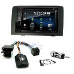 Fiat Idea de 2005 à 2012 : Poste radio 2-DIN avec CD/USB/Bluetooth avec ou sans écran tactile