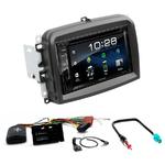 Fiat 500L : Poste radio 2-DIN avec CD/USB/Bluetooth avec ou sans écran tactile