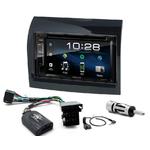 Fiat Ducato, Citroen Jumper et Peugeot Boxer de 2011 à 05/2014 : Poste radio 2-DIN avec CD/USB/Bluetooth avec ou sans écran tactile