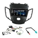 Ford Fiesta de 2008 à 2012 : Poste radio 2-DIN avec CD/USB/Bluetooth avec ou sans écran tactile
