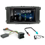 Ford Mondeo, Focus, C-Max, S-Max & Galaxy : Poste radio 2-DIN avec CD/USB/Bluetooth avec ou sans écran tactile