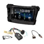 Hyundai i40 de 06/2011 à 2018 : Poste radio 2-DIN avec CD/USB/Bluetooth avec ou sans écran tactile