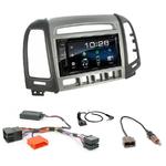 Hyundai Santa Fe de 2007 à 2012 : Poste radio 2-DIN avec CD/USB/Bluetooth avec ou sans écran tactile