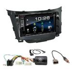 Hyundai i30 depuis 03/2012 : Poste radio 2-DIN avec CD/USB/Bluetooth avec ou sans écran tactile