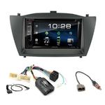 Hyundai IX35 de 2010 à 2013 : Poste radio 2-DIN avec CD/USB/Bluetooth avec ou sans écran tactile