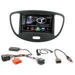 Hyundai i10 de 2008 à 2013 : Poste radio 2-DIN avec CD/USB/Bluetooth avec ou sans écran tactile