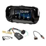 Kia Soul depuis 2014 : Poste radio 2-DIN avec CD/USB/Bluetooth avec ou sans écran tactile