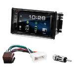 Kia Sorento de 2006 à 2009 : Poste radio 2-DIN avec CD/USB/Bluetooth avec ou sans écran tactile