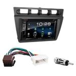Kia Picanto de 2004 à 2007 : Poste radio 2-DIN avec CD/USB/Bluetooth avec ou sans écran tactile