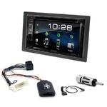 Kia Carens de 2007 à 2010 : Poste radio 2-DIN avec CD/USB/Bluetooth avec ou sans écran tactile