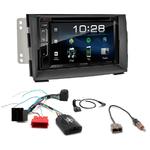Kia Venga depuis 2010 : Poste radio 2-DIN avec CD/USB/Bluetooth avec ou sans écran tactile