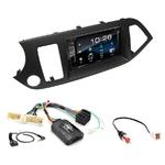 Kia Picanto depuis 05/2011 : Poste radio 2-DIN avec CD/USB/Bluetooth avec ou sans écran tactile