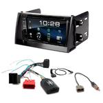 Kia Soul de 11/2008 à 2010 : Poste radio 2-DIN avec CD/USB/Bluetooth avec ou sans écran tactile