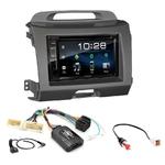 Kia Sportage de 08/2010 à 2014 : Poste radio 2-DIN avec CD/USB/Bluetooth avec ou sans écran tactile