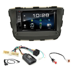 Kia Sorento depuis 2012 : Poste radio 2-DIN avec CD/USB/Bluetooth avec ou sans écran tactile