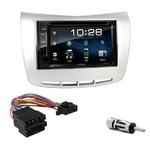 Lancia Delta depuis 2009 : Poste radio 2-DIN avec CD/USB/Bluetooth avec ou sans écran tactile
