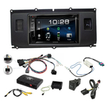 Poste radio 2-DIN avec CD/USB/Bluetooth avec ou sans écran tactile Land Rover Evoque de 2011 à 2015