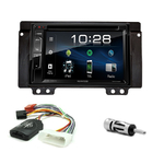 Poste radio 2-DIN avec CD/USB/Bluetooth avec ou sans écran tactile Land Rover Freelander de 2004 à 2006 - VX404E