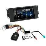Poste radio 2-DIN avec CD/USB/Bluetooth avec ou sans écran tactile Land Rover Freelander 2006 à 2015 et Range Rover Sport 2005 à 2010