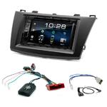Mazda 3 de 2009 à 10/2013 : Poste radio 2-DIN avec CD/USB/Bluetooth avec ou sans écran tactile