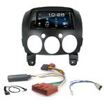Mazda 2 depuis 2007 :  Poste radio 2-DIN avec CD/USB/Bluetooth avec ou sans écran tactile