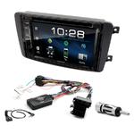 Mercedes CLK, Classe C, Viano et Vito avant 2006 : Poste radio 2-DIN avec CD/USB/Bluetooth avec ou sans écran tactile