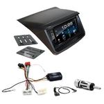 Mitsubishi L200 depuis 2012 : Poste radio 2-DIN avec CD/USB/Bluetooth avec ou sans écran tactile