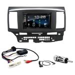 Mitsubishi Lancer de 2007 à 2012 : Poste radio 2-DIN avec CD/USB/Bluetooth avec ou sans écran tactile