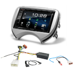 Nissan Micra de 2011 à 2014 : Poste radio 2-DIN avec CD/USB/Bluetooth avec ou sans écran tactile