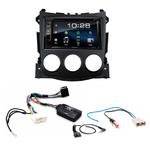 Nissan 370Z : Poste radio 2-DIN avec CD/USB/Bluetooth avec ou sans écran tactile