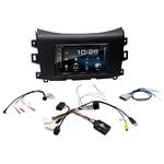 Nissan Navara NP300 depuis 2015 : Poste radio 2-DIN avec CD/USB/Bluetooth avec ou sans écran tactile