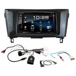 Nissan Qashqai et X-Trail depuis 2014 : Poste radio 2-DIN avec CD/USB/Bluetooth avec ou sans écran tactile