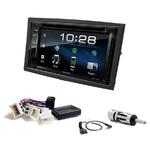 Nissan 350Z de 2006 à 2011 : Poste radio 2-DIN avec CD/USB/Bluetooth avec ou sans écran tactile