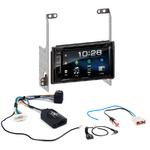Nissan X-trail de 2007 à 2014 : Poste radio 2-DIN avec CD/USB/Bluetooth avec ou sans écran tactile