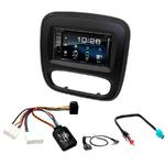 Opel Vivaro & Renault Trafic depuis 2015 : Poste radio 2-DIN avec CD/USB/Bluetooth avec ou sans écran tactile