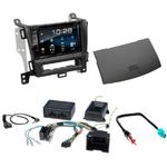 Opel Zafira Tourer depuis 2012 : Poste radio 2-DIN avec CD/USB/Bluetooth avec ou sans écran tactile