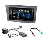 Opel Astra, Corsa, Zafira et Antara : Poste radio 2-DIN avec CD/USB/Bluetooth avec ou sans écran tactile