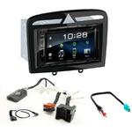 Peugeot 308 de 09/2007 à 2013 et Peugeot RCZ : Poste radio 2-DIN avec CD/USB/Bluetooth avec ou sans écran tactile